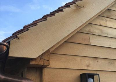 vanhauwood - eikenhouten bijgebouw eiken afwerking
