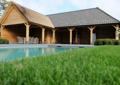 poolhouse riet