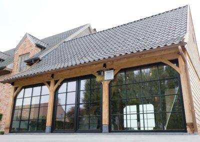 Eiken woninguitbreiding showroom  (Ref. VD EA02)