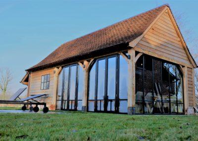 Eiken barbecuehuisje (Ref. BBQ EB01)