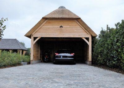vanhauwood -eiken bijgebouw carport 1