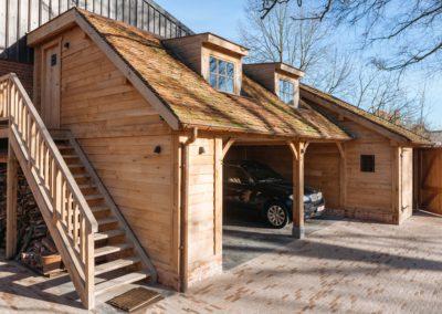 vanhauwood eiken carport met guest house 12