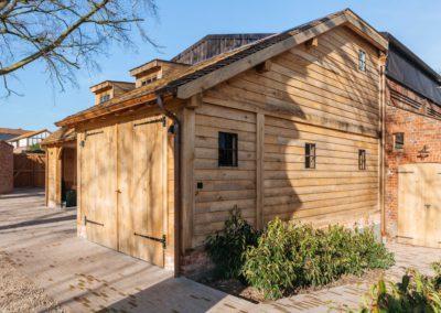 vanhauwood -eiken carport met guest house 2