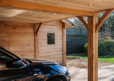 vanhauwood eiken carport met guest house 6