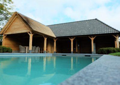 vanhauwood - eiken poolhouse