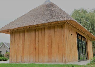 vanhauwood - eiken poolhouse riet 2