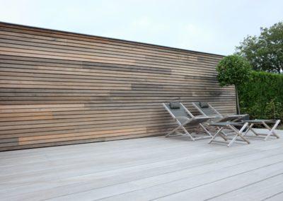 vanhauwood -fijne houten latjes terras 2