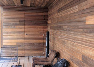 vanhauwood -fijne houten latjes terras 3