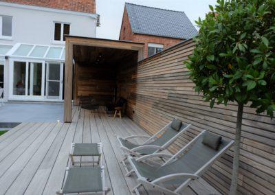 vanhauwood -fijne houten latjes terras 4