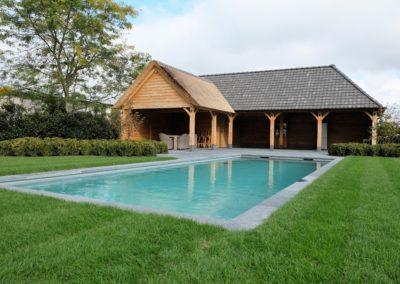 vanhauwood- landelijk bijgebouw - poolhouse