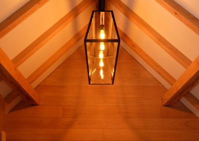 vanhauwood -landelijk strak verlichting bijgebouw