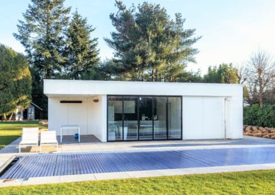 vanhauwood - modern witte poolhouse 2
