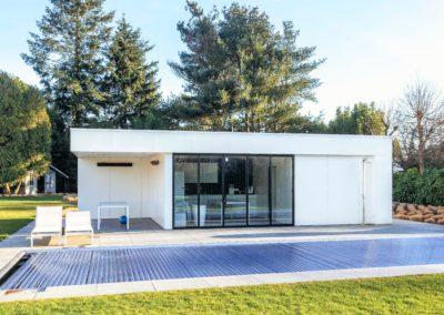 vanhauwood - modern witte poolhouse 2