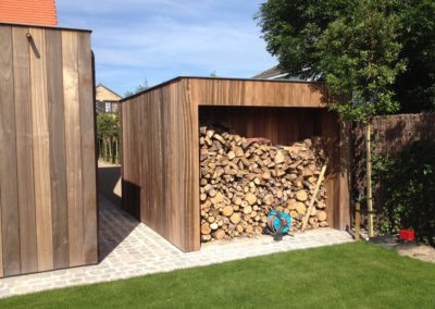 vanhauwood - moderne tuinberging 2