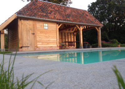Eiken Poolhouse met sauna (Ref.EPS04)
