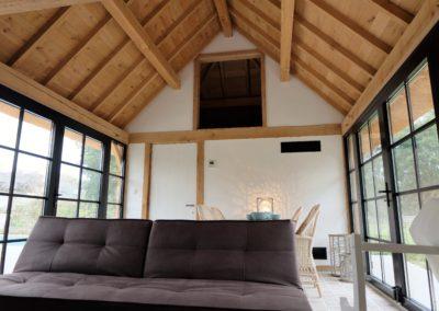vanhauwood -poolhouse binnen