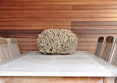 vanhauwood moderne tuinwand met berging padoek 4