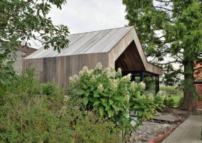 Vanhauwood - modern bijgebouw padoek 10