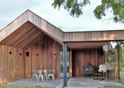 Vanhauwood - modern bijgebouw padoek 4