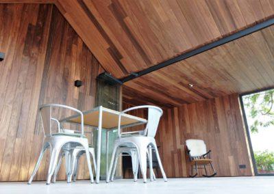 Vanhauwood - modern bijgebouw padoek 7