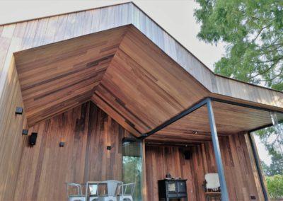 Vanhauwood - modern bijgebouw padoek 9