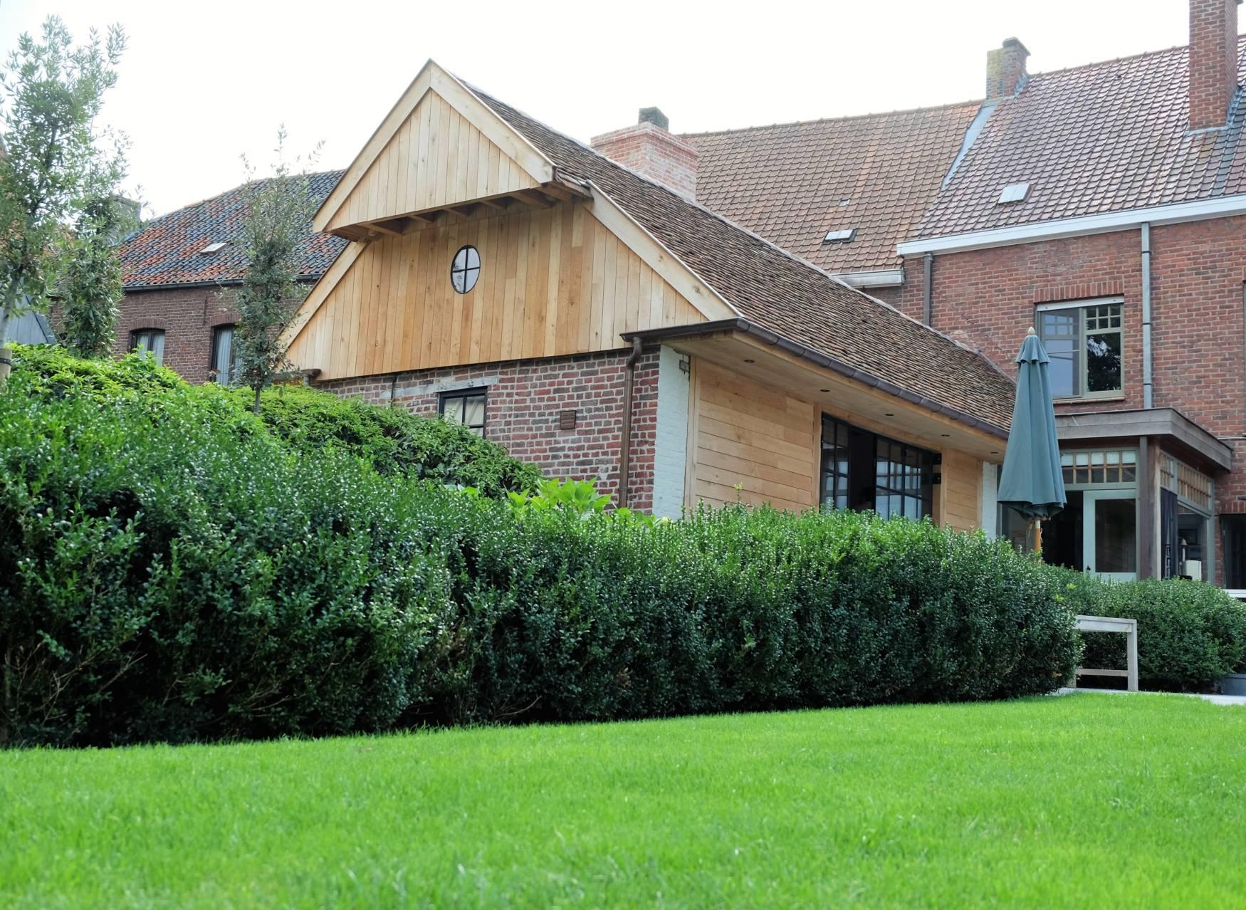 Landelijke aanbouw houten carports carport aanbouw carport garage en tuinhuis pinterest car - Stenen huis uitbreiding ...
