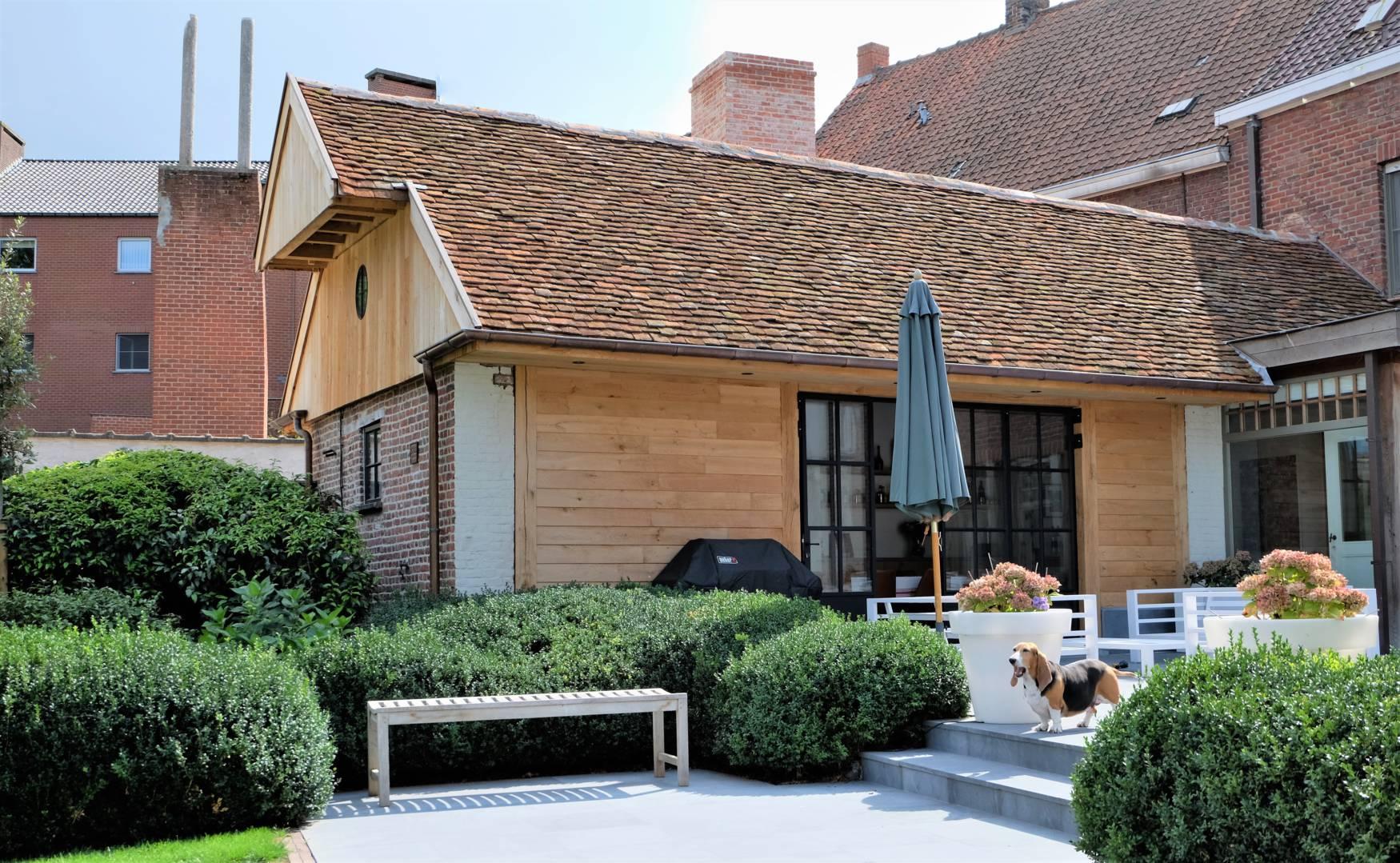Landelijke aanbouw houten carports carport aanbouw carport garage en tuinhuis pinterest car - Uitbreiding stenen huis ...