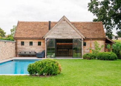 Vanhauwood_poolhouse bourgondische tegelpannen 7