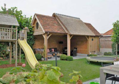 vanhauwood landelijk tuinhuis met overdekte zitplaats 10