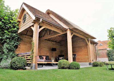 vanhauwood landelijk tuinhuis met overdekte zitplaats 7