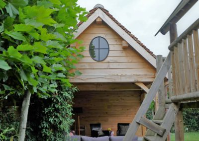 vanhauwood landelijk tuinhuis met overdekte zitplaats 8