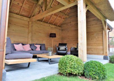 vanhauwood landelijk tuinhuis met overdekte zitplaats 9