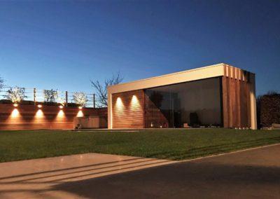 vanhauwood - moderne poolhouse padoek