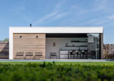 Poolhouse met sauna, doucheruimte en keuken (Ref. TEN01)