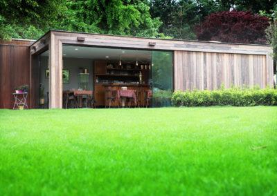 Vanhauwood - Modern bijgebouw tuinkamer 1