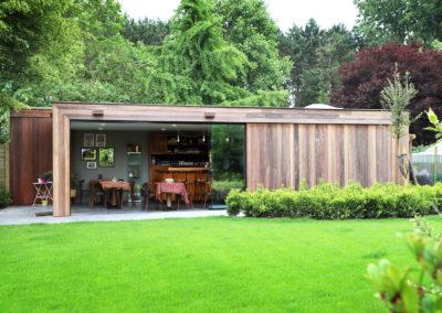 Vanhauwood - Modern bijgebouw tuinkamer 10