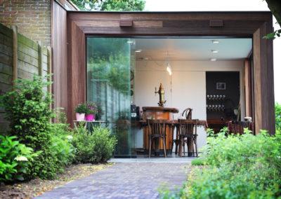 Vanhauwood - Modern bijgebouw tuinkamer 12