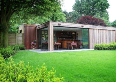 Vanhauwood - Modern bijgebouw tuinkamer 2