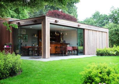 Modern bijgebouw – L'atelier au Jardin