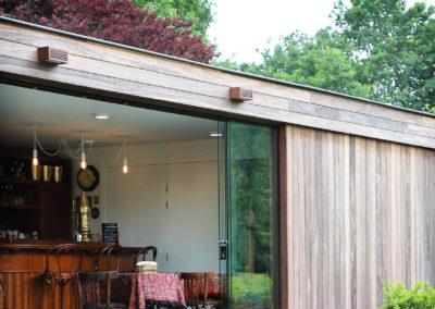 Vanhauwood - Modern bijgebouw tuinkamer 7