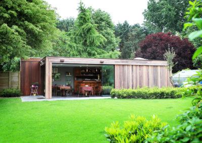Vanhauwood - Modern bijgebouw tuinkamer 8