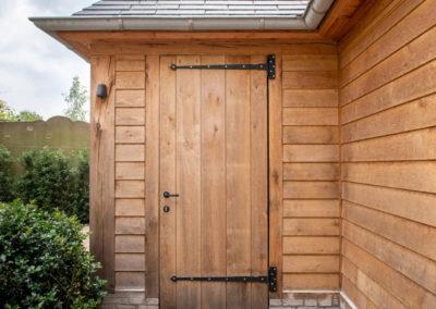 Vanhauwood - eiken tuinberging en garage 10