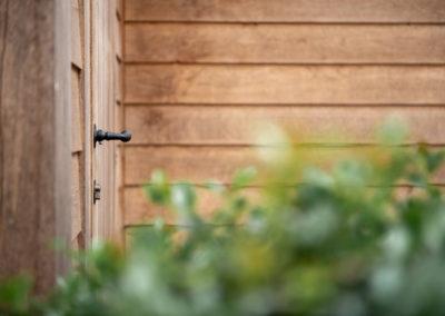 Vanhauwood - eiken tuinberging en garage 11
