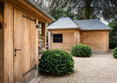 Vanhauwood - eiken tuinberging en garage 12