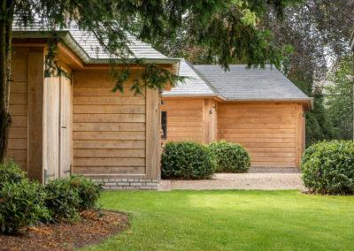 Vanhauwood - eiken tuinberging en garage 2