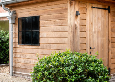 Vanhauwood - eiken tuinberging en garage 4