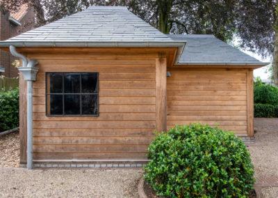 Vanhauwood - eiken tuinberging en garage 5