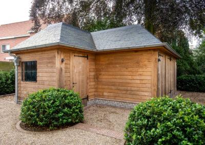 Vanhauwood - eiken tuinberging en garage 6