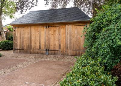 Vanhauwood - eiken tuinberging en garage 7