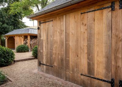 Vanhauwood - eiken tuinberging en garage 8